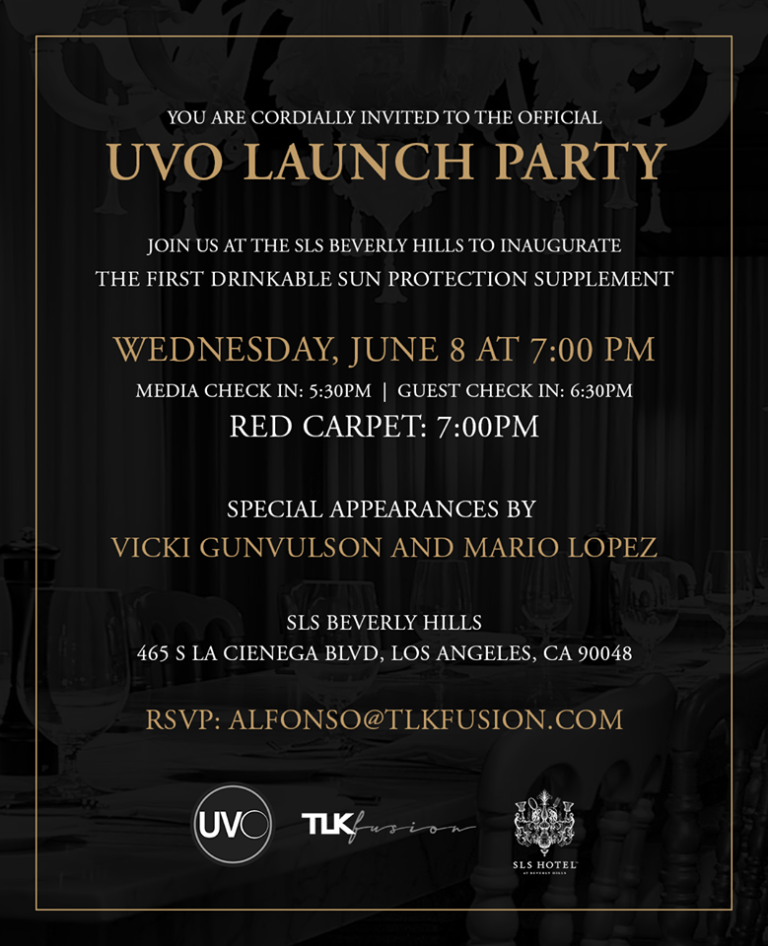 Drink UVO Red Carpet Product Launch