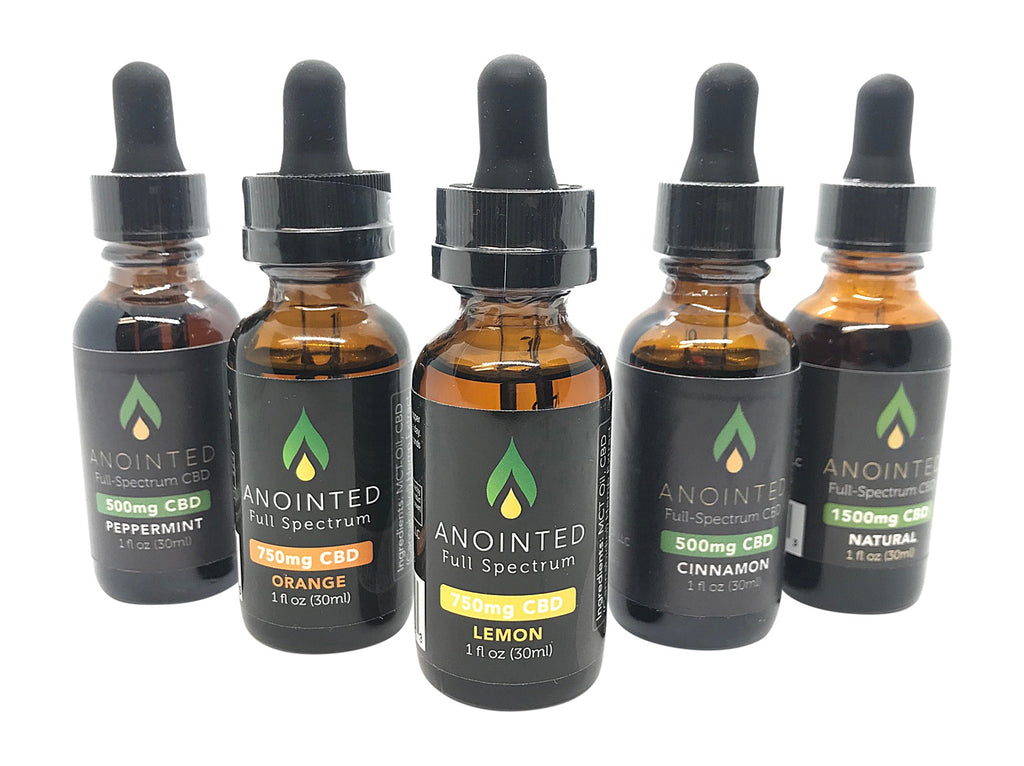 CBD By Anointed and Diva Stuff