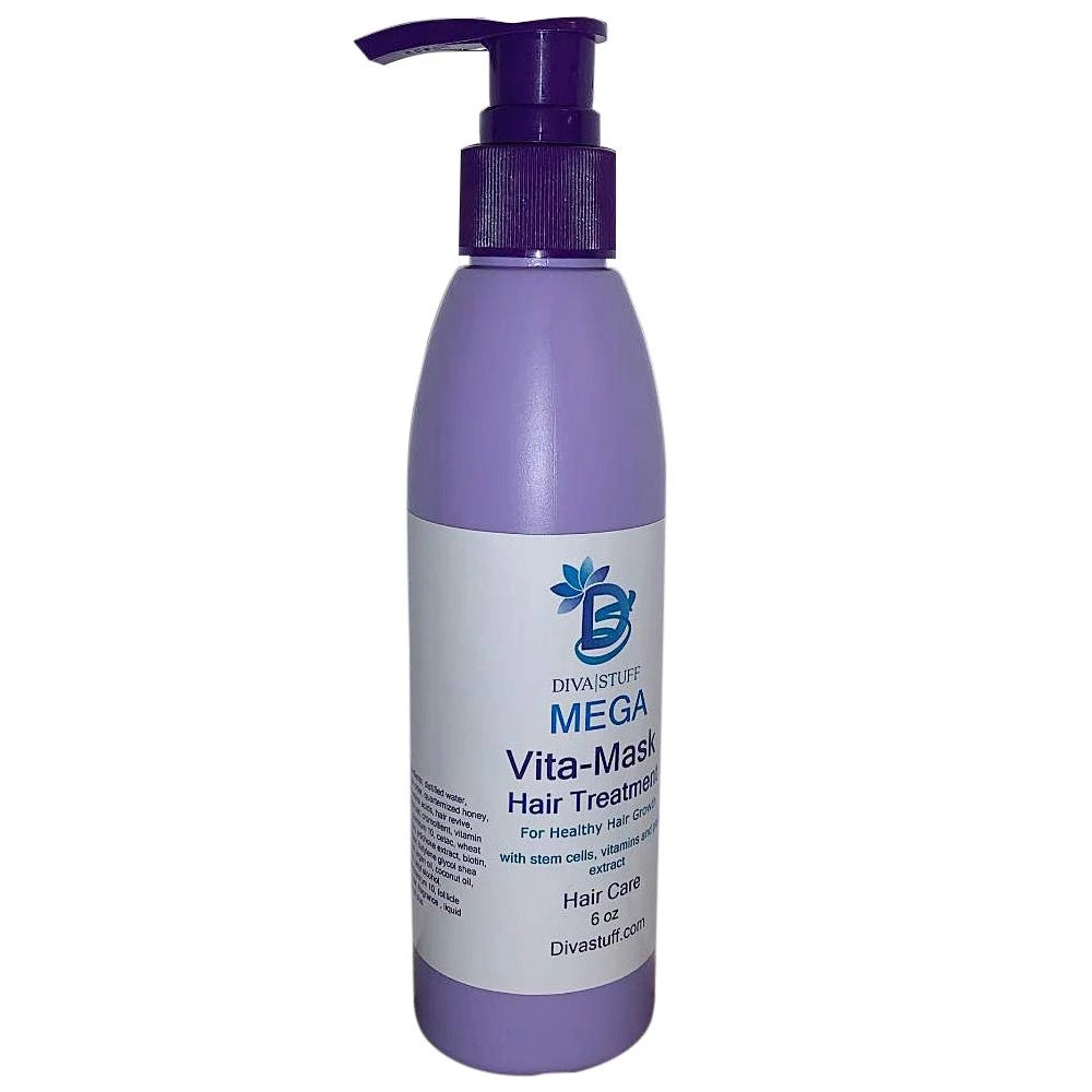 Mega Vita-Mask Hair Treatment With Stem Cells, Vitamins and Plant Extracts, For Thinning or Damaged Hair and Hair Loss
