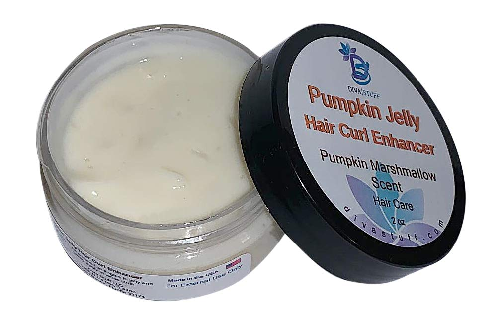 Pumpkin Jelly Curl Enhancer Styling Gel, For Curly and Wavy Hair
