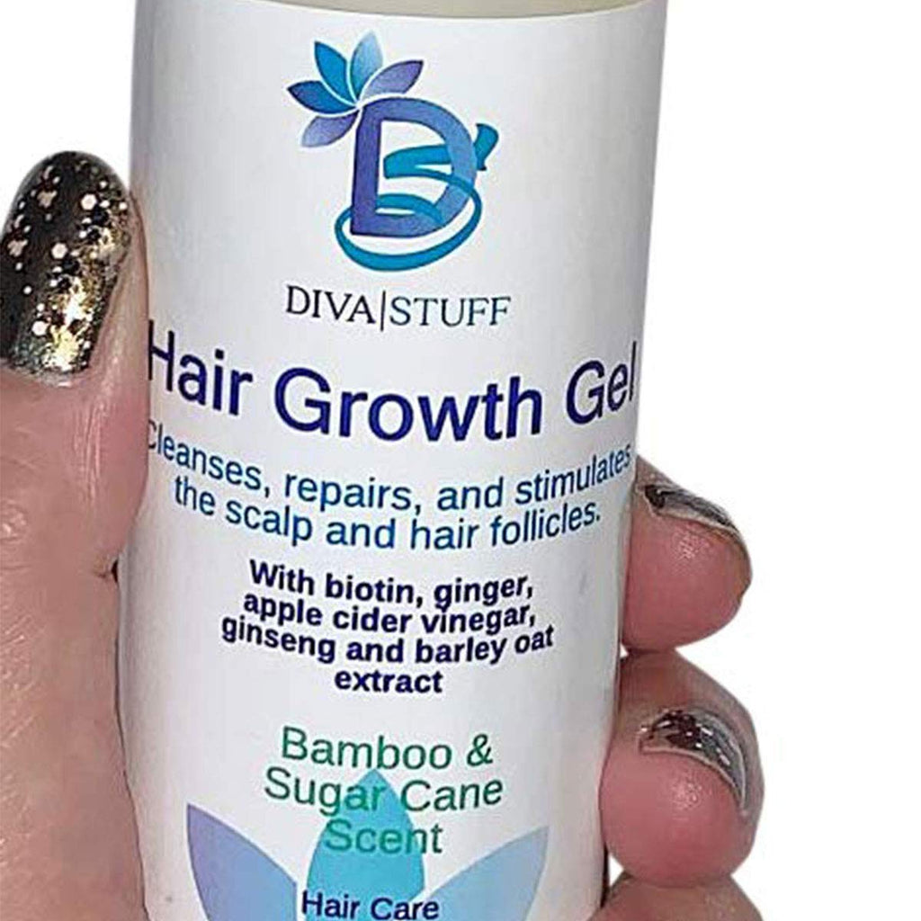 Hair Growth Gel, Cleanses, Repairs and Stimulates Scalp and Hair Follicles,With Stem Cells, Vitamins and Minerals