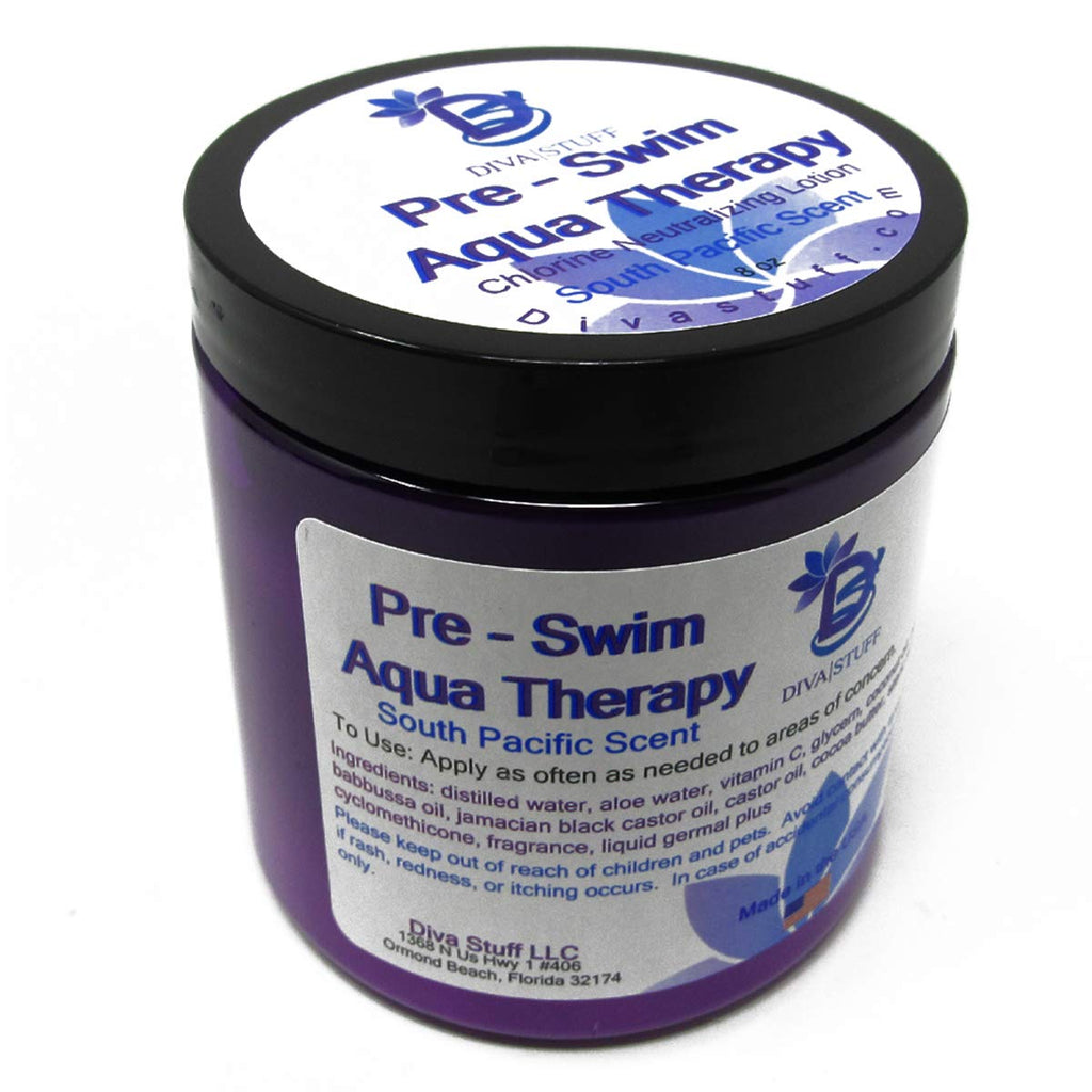 Pre-Swim Aqua Therapy Chlorine Neutralizing Body Lotion - Fresh South Pacific