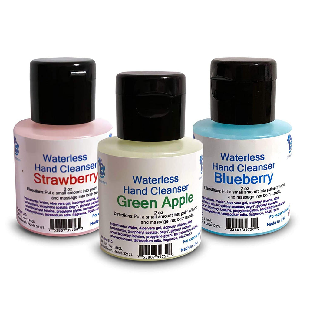 Waterless Hand Cleanser - Variety Pack