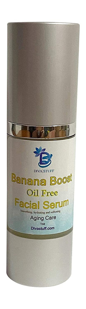 Banana Boost Oil Free Facial Serum, Superior Hydration Without Oil, Smoothing, Plumping, and Firming By Diva Stuff