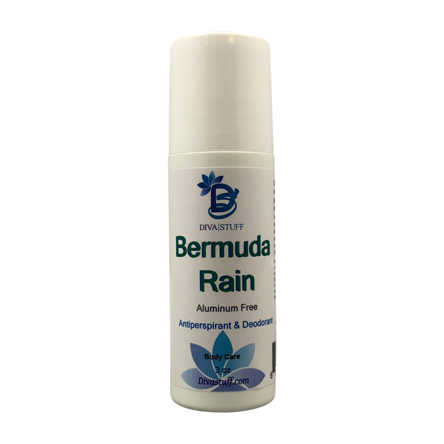 Bermuda Rain Scented Aluminum Free Deodorant, All Natural, Safe