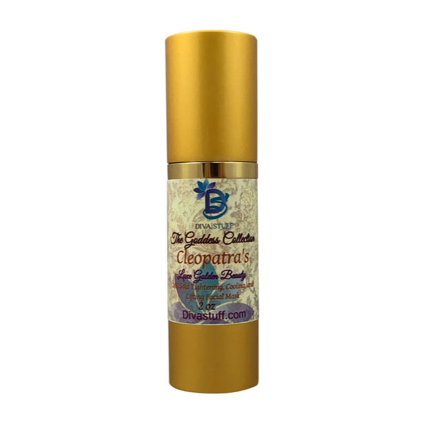 Cleopatra's Luxe Golden Beauty, Cooling and Tightening Anti Aging Gold Face Mask