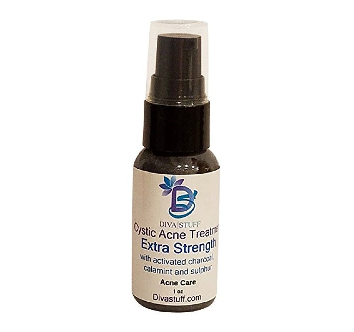 Cystic Acne Spot Treatment for Moderate to Severe Acne, Fast Acting Formula Reduces Inflammation and Dries Out the Blemish Quickly