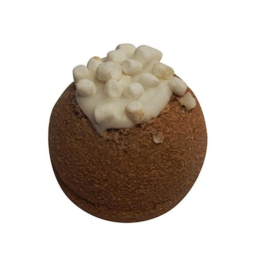 Bath Bomb with Skin Softening Ingredients-Hot Cocoa