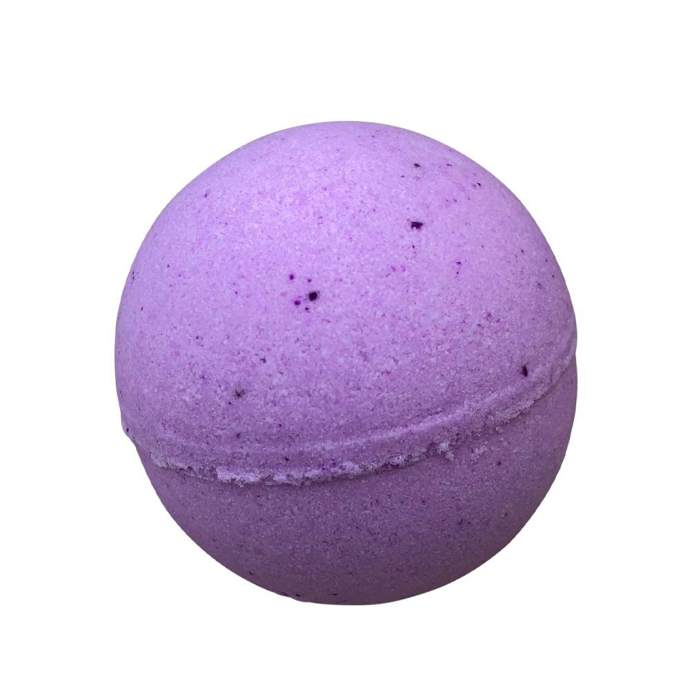 Bath Bomb with Skin Softening Ingredients-Grape Goodness (3 Ounces)