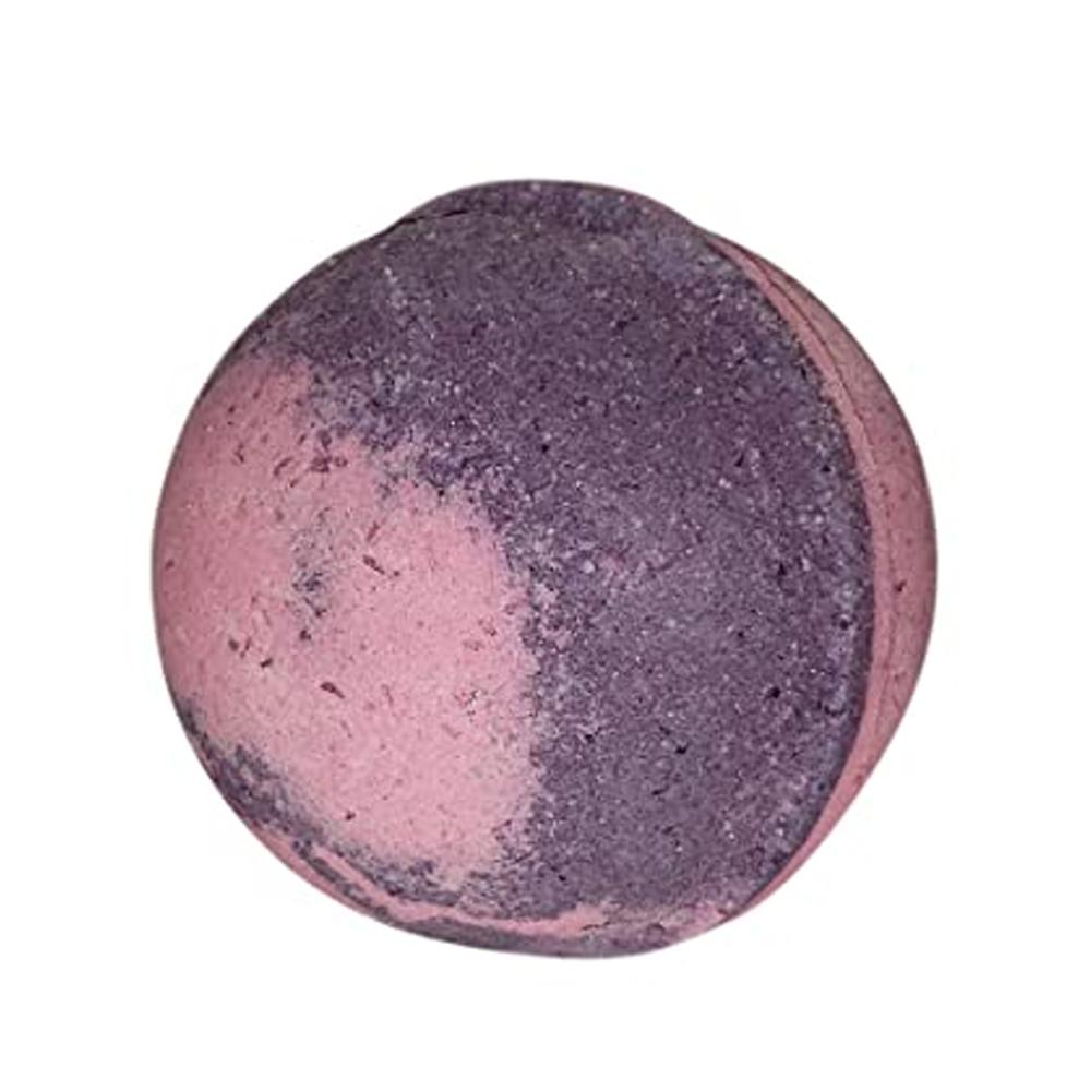 Bath Bomb with Skin Softening Ingredients-Black Raspberry Bliss