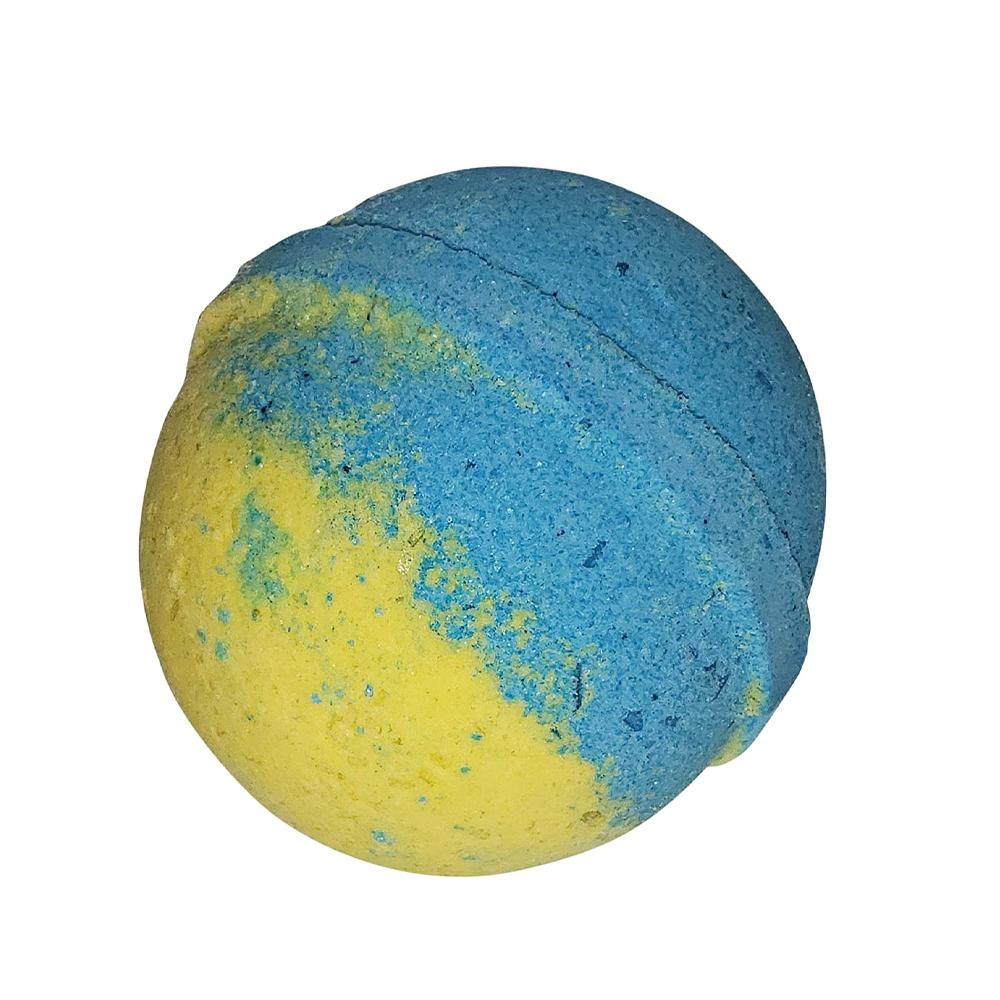 Bath Bomb with Skin Softening Ingredients-Coconut Caribe