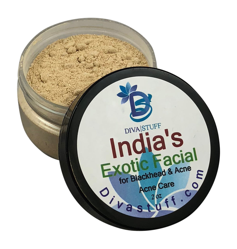 India's Exotic Facial For Blackheads And Acne, 2oz Jar
