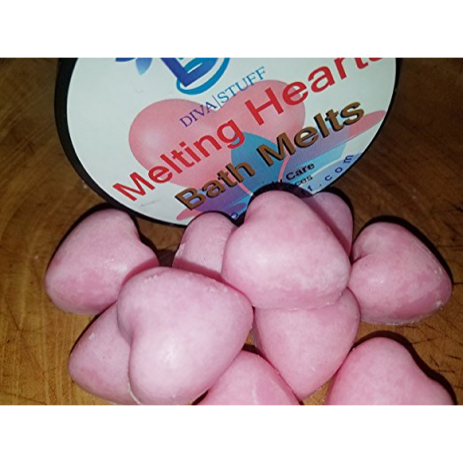 Melting Hearts Skin Softening Slow Melt Bath Melts With Cocoa Butter and Shea Butter