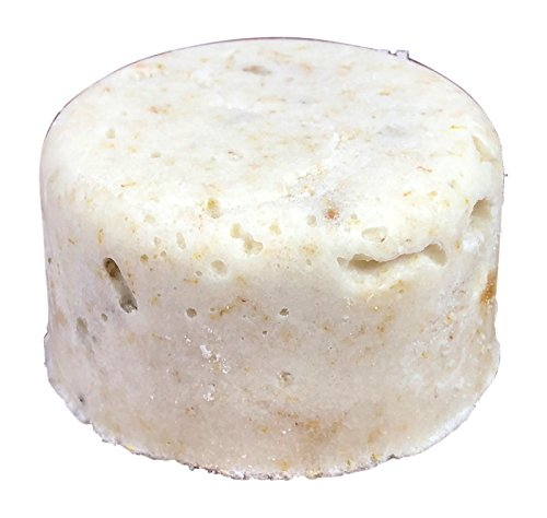 Sugar Puck,Unique Sugar Scrub Soap Bar, Exfoliating, Foaming, Moisturizing and Fizzing, Chamomile Apple Scent