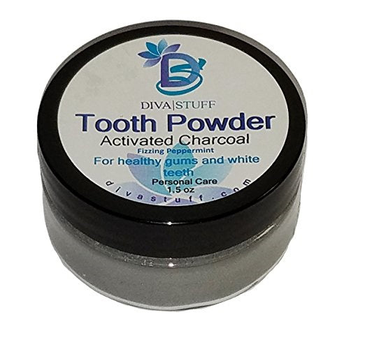 Superior Tooth Powder For Whiter and Healthier Teeth and Gums, With Activated Charcoal