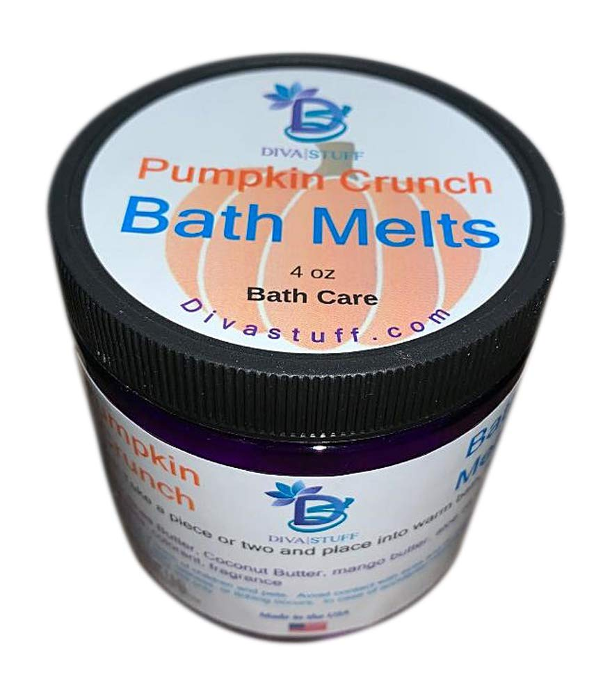 Pumpkin Crunch Bath Melts, Skin Softening and Great Smelling