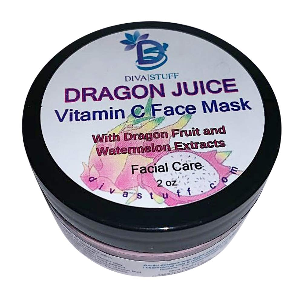 Dragon Juice Vitamin C Face Mask, With Dragon Fruit, Watermelon Extract and Ginger Mint