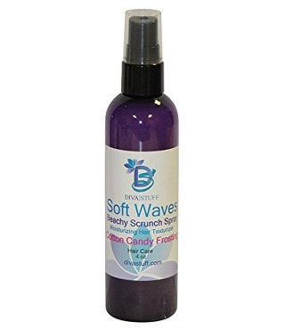 Soft Waves Beachy Scrunch Spray, Moisturizing Hair Texturizer, Cotton Candy