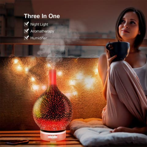 Firefly Aromatherapy - Essential Oil Diffuser, air humidifier and freshener