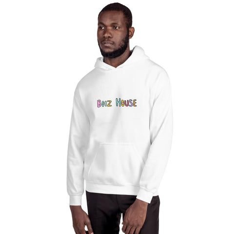 Boiz House Hoodie MultiMedia.Party with Boiz House White S