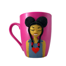 Load image into Gallery viewer, Z Baby Girl Heart Mug