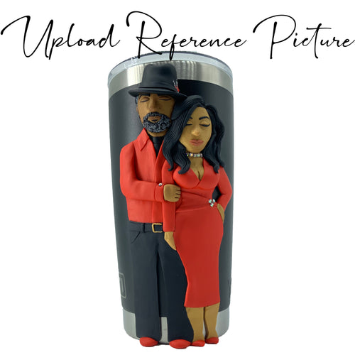 Custom Couple Yeti People