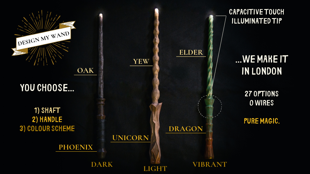 Wand options
