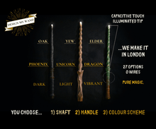 Load image into Gallery viewer, Design My Wand - Custom Wands (Illuminated)