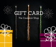 Load image into Gallery viewer, TheCauldron_Wizard_GiftCardCauldronShop