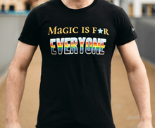 Load image into Gallery viewer, TheCauldron_Wizard_MagicForEveryoneTshirt