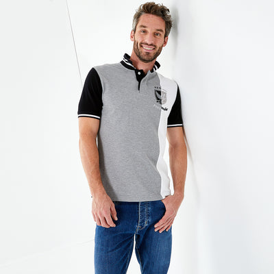 New Zealand cotton piqué polo