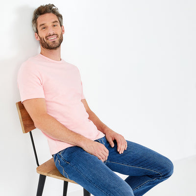 Pink flamme cotton jersey T-shirt