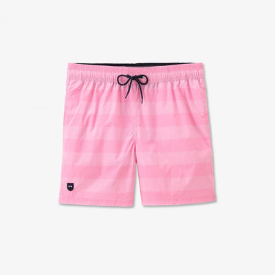 Image Eden Park Swimming shorts - Striped pink parachute fabric swimming trunks