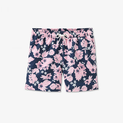 Image Eden Park Swimming shorts - Exclusive print navy blue swimming trunks
