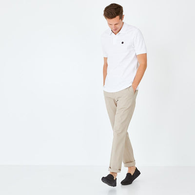 Image Eden Park Trousers & shorts - Beige stretch cotton chino trousers