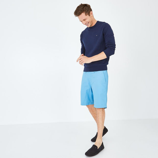 Image Eden Park Trousers & shorts - Light blue stretch cotton chino-style bermudas