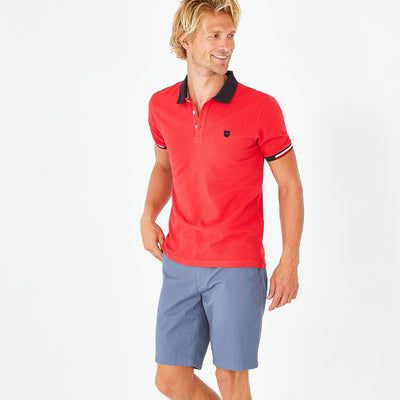 Image Eden Park Trousers & shorts - Blue stretch cotton chino-style bermudas