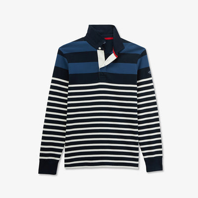 Striped color-block Saint James rugby shirt