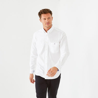 White tolosa oxford shirt
