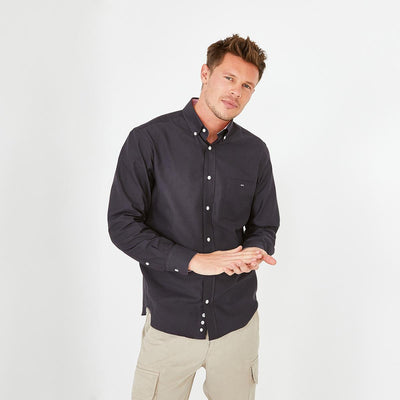 Dark grey tolosa oxford shirt