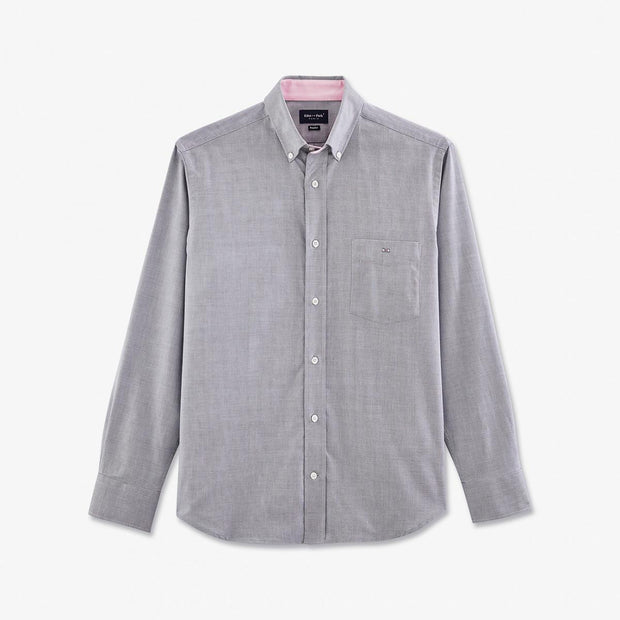 Grey tolosa oxford shirt