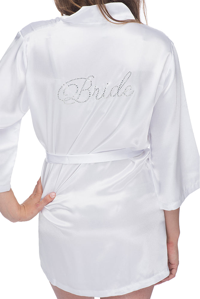 Personalized Satin Flower Girl Robe