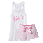 Bridal Shower Gift, Bride Pajamas, Bride to be Gift, Blushing Bride