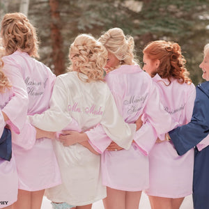 Personalized Mrs. Satin Bridal Robe