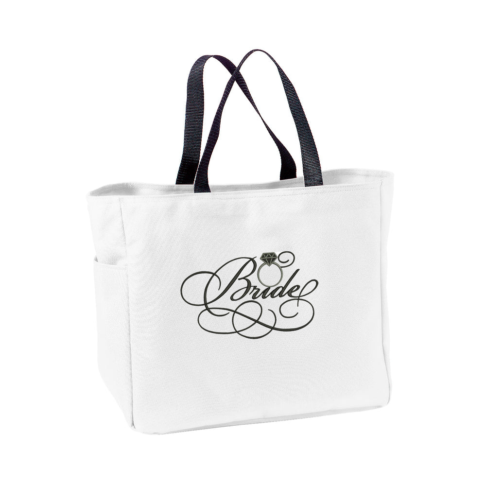 Load image into Gallery viewer, Bride Ring Tote Bag