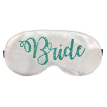 Bride Silk Eyemask, Bride Sleep Masks, Bridal Shower Gift