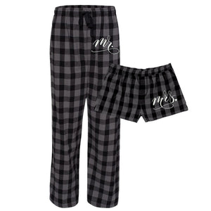 Mr. and Mrs. Flannel Set