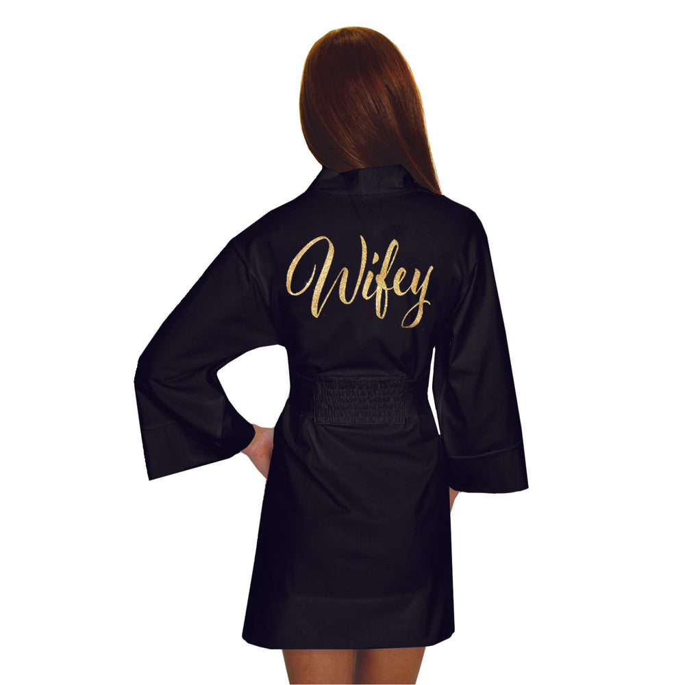 Load image into Gallery viewer, Wifey Glitter Darling Wrap