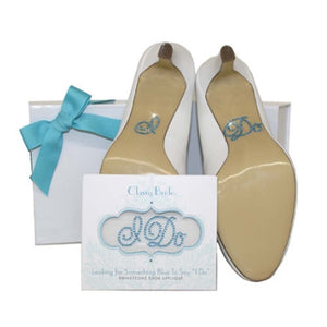 Load image into Gallery viewer, I Do Shoe Sticker Wedding Shoe Sticker