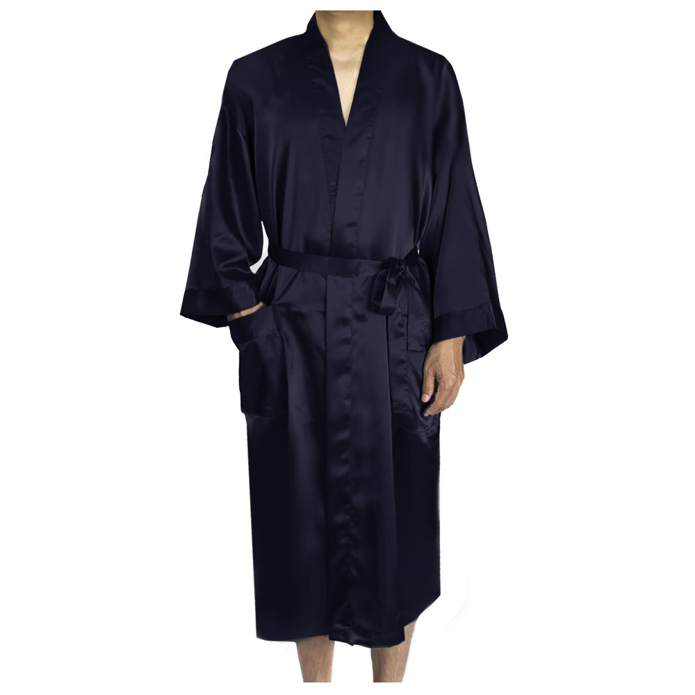 Customized Hubby Satin Robe